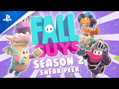 Fall Guys: Ultimate Knockout - Season 2 Sneak Peek | PS4