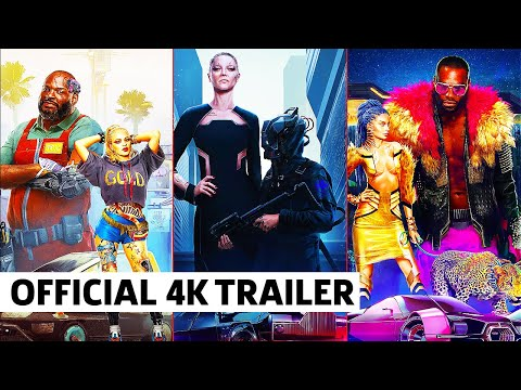 Cyberpunk 2077 — 2077 in Style | Looks and Fashion Explained (4K)