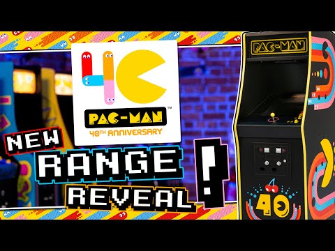 PAC-MAN TURNS 40! PAC-MAN 40th Anniversary Collection Trailer