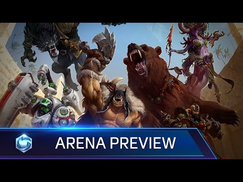 Heroes of the Storm - BlizzCon 2015 Arena Preview