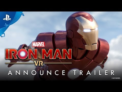 Marvel's Iron Man VR – Announce Trailer | PS VR