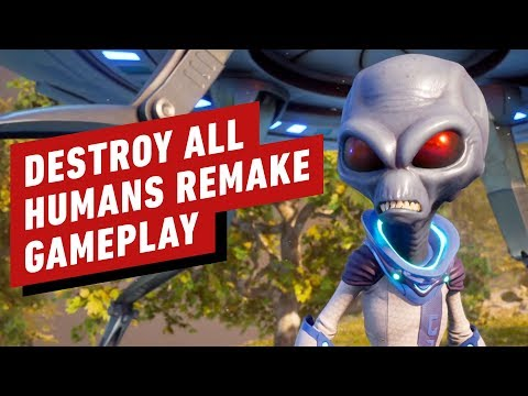 13 Minutes of Destroy All Humans! Remake Gameplay