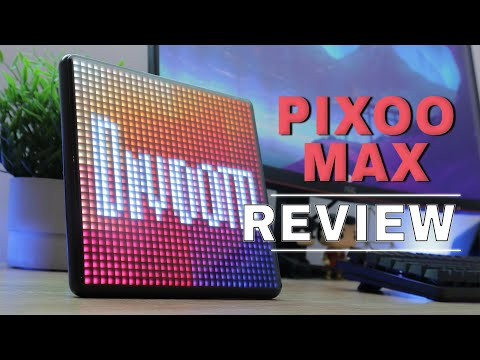 Divoom Pixoo Max Review: Pixel-art LED Display with a Twist