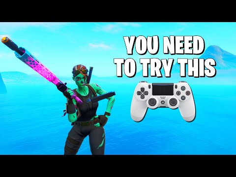 FORTNITE CONSOLE PLAYERS NEED TO CHANGE THIS SETTING **IMPROVE YOUR AIM**