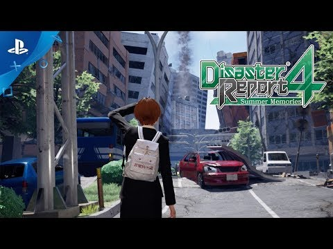 Disaster Report 4: Summer Memories - First Impact | PS4, PS VR
