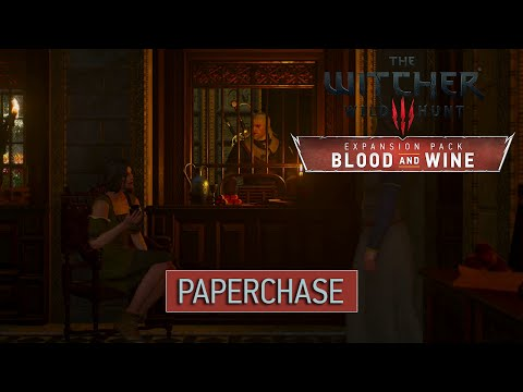 Witcher 3 Blood and Wine - Paperchase