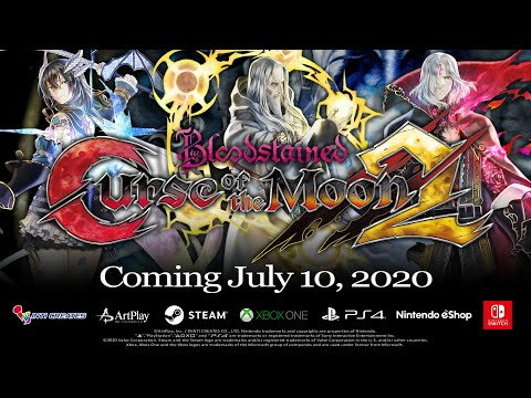 Bloodstained: Curse of the Moon 2 - Official 2nd Trailer