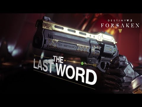 Destiny 2: Forsaken Annual Pass - Last Word Trailer