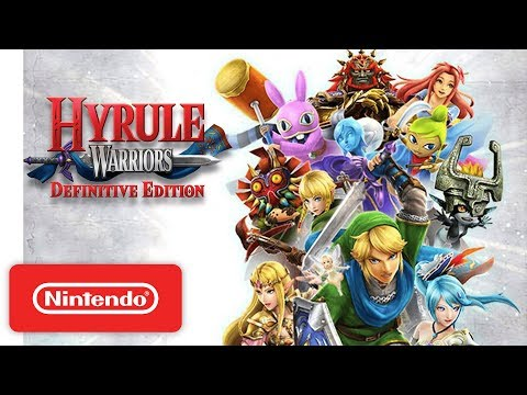Hyrule Warriors: Definitive Edition Launch Trailer - Nintendo Switch