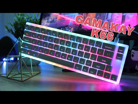 GamaKay (Womier) K66 Keyboard Review: More Than Just an RGB Light Show