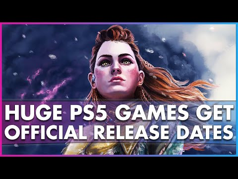 Huge PS5 Exclusives Get Official Release Dates at CES 2021