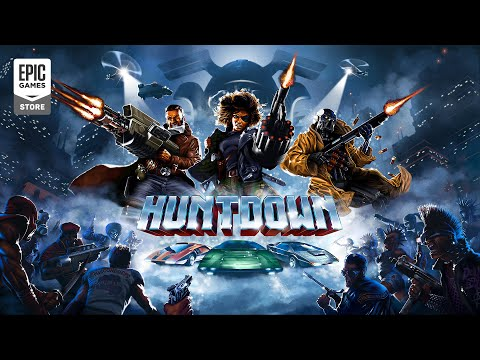 Huntdown - Official Release Date Trailer