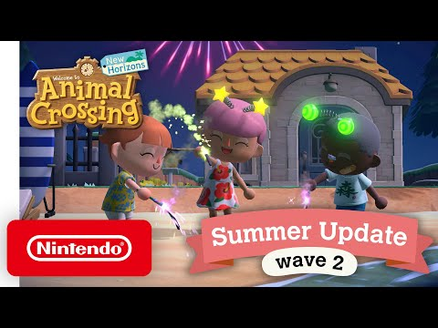 Animal Crossing: New Horizons Summer Update – Wave 2 - Nintendo Switch