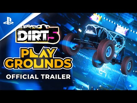 Dirt 5 - Playgrounds Trailer | PS4, PS5