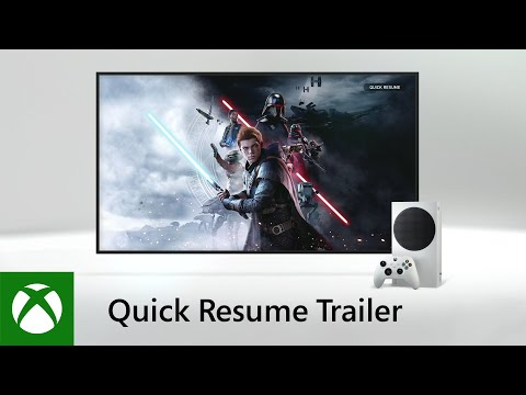 Xbox Series S - Quick Resume Trailer