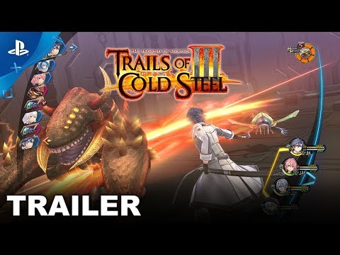 Trails of Cold Steel III - Demo Release Trailer | PS4