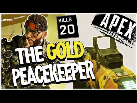 I FOUND A GOLD PEACEKEEPER - 20 KILLS WITH MIRAGE (PS4)