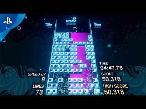 Tetris Effect - Launch Trailer | PS4