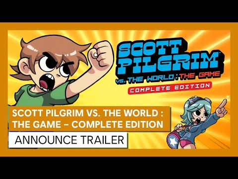 Scott Pilgrim vs. The World: The Game – Complete Edition | ANNOUNCE TRAILER