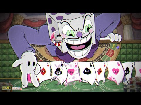 Cuphead: ALL Casino Bosses / King Dice Boss Fight