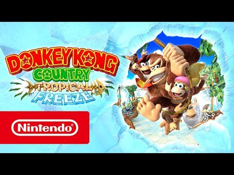 Donkey Kong Country: Tropical Freeze – Launch Trailer (Nintendo Switch)
