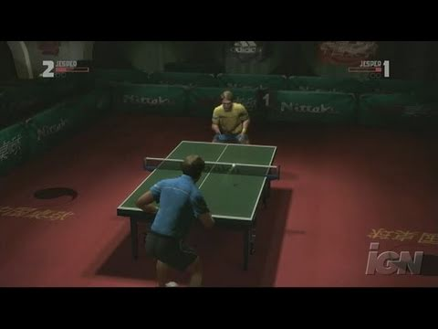 Rockstar Games Presents Table Tennis Xbox 360 Review -