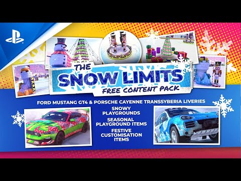 Dirt 5 - Snow Limits Free Content Pack | PS5, PS4
