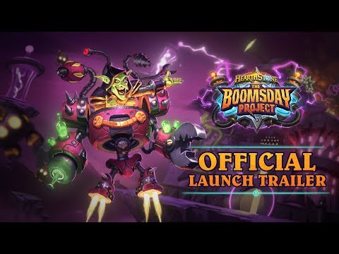 Hearthstone: The Boomsday Project Trailer