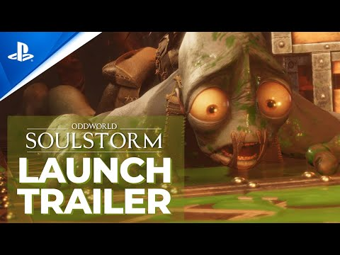 Oddworld: Soulstorm - Launch Trailer l PS5, PS4