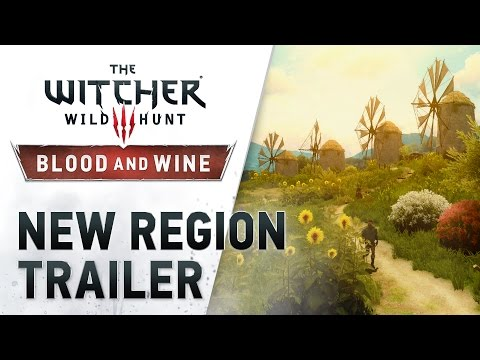 "The Witcher 3: Wild Hunt – Blood and Wine ""New Region"" Trailer"