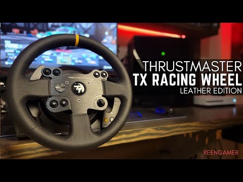 Thrustmaster TX Racing Wheel Leather Edition Review: Immersive and Powerful