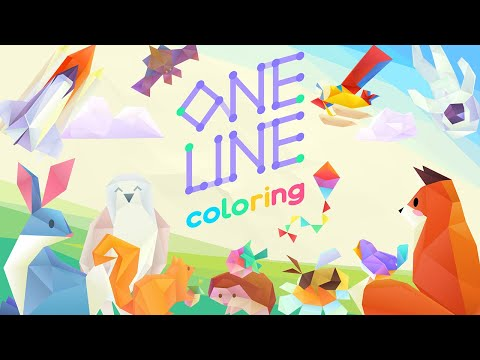 One Line Coloring - Official Release Trailer