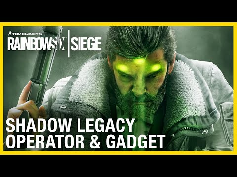 Rainbow Six Siege: Shadow Legacy Operator Gameplay Gadget and Starter Tips | Ubisoft [NA]
