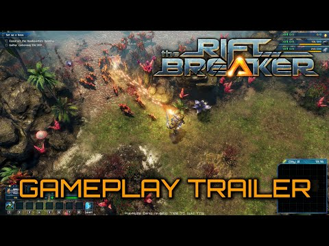 The Riftbreaker - Gameplay Trailer