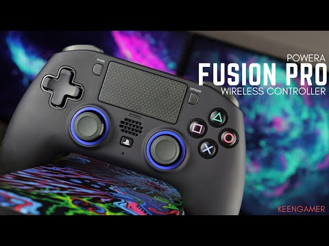 PowerA Fusion Pro PS4 Controller Review: Beefy Dual Shock Alternative