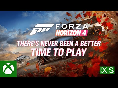Forza Horizon 4 Optimized for Xbox Series X|S