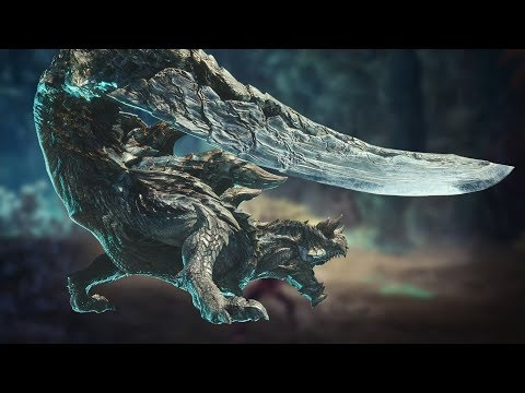 Acidic Glavenus Gameplay - Monster Hunter World: Iceborne
