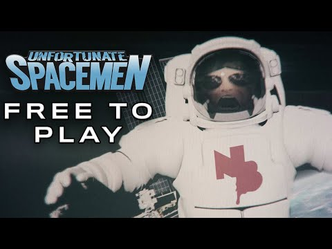 Unfortunate Spacemen - v1.0 (Free to Play) Release Trailer