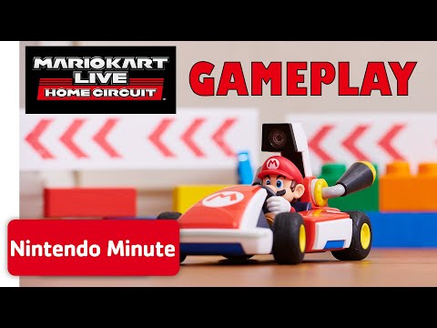 Mario Kart Live: Home Circuit - Nintendo Racetrack Gameplay