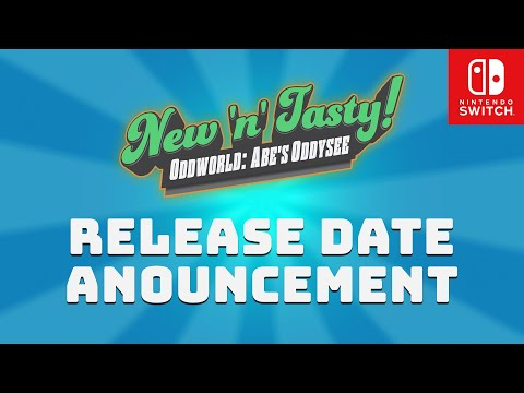 Oddworld: New 'n' Tasty Switch Release Date Announcement