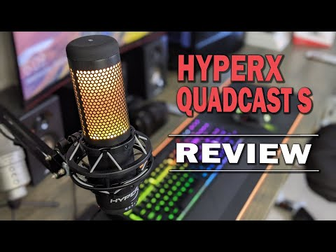 HyperX Quadcast S Review: Brilliance in Sight and Sound
