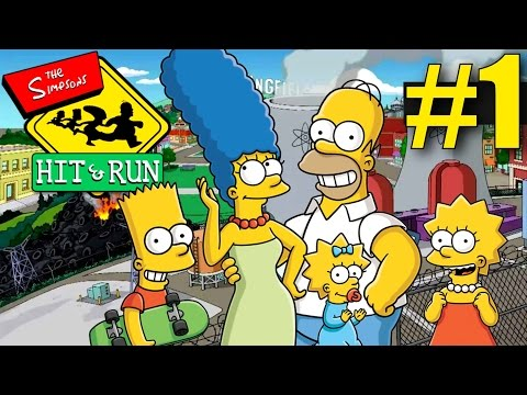 The Simpsons Hit and Run - Part 1 - Welcome to Springfield! (Walkthrough)