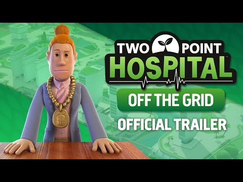 Two Point Hospital: Off The Grid | Announce Trailer