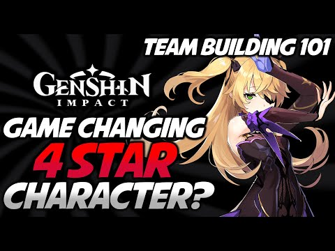 Genshin Impact BEST 4 Star Character? (Elemental Combo) Beginners TEAM BUILDING Guide [Venti Banner]