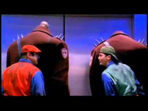Super Mario Bros. (1993) - Goombas in The Elevator