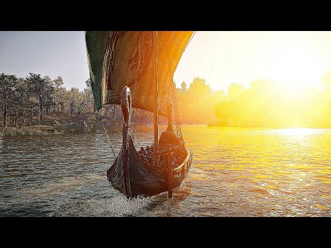 Assassin's Creed Valhalla - Vikings Arrive In England (4K 60FPS)