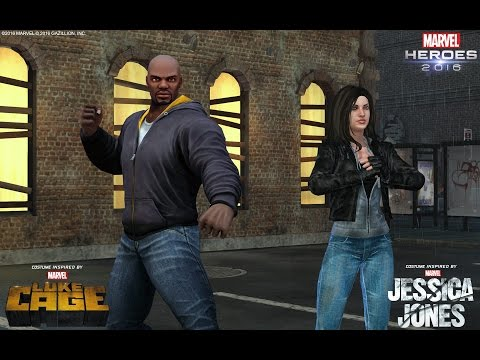Celebrate Marvel's Luke Cage with a new Costume and Team-Up!