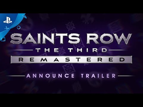 Saints Row The Third Remastered - Announce Trailer | PS4