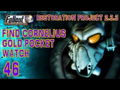 Fallout 2 - Find Cornelius's Gold Pocket watch and return it (Modoc) Part #46