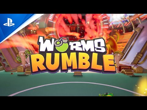 Worms Rumble - Release Date and Open Beta Announcement | PS4